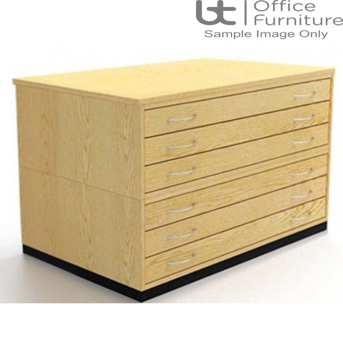 Traditional A1 6 Drawer Plan Chest (planchest)