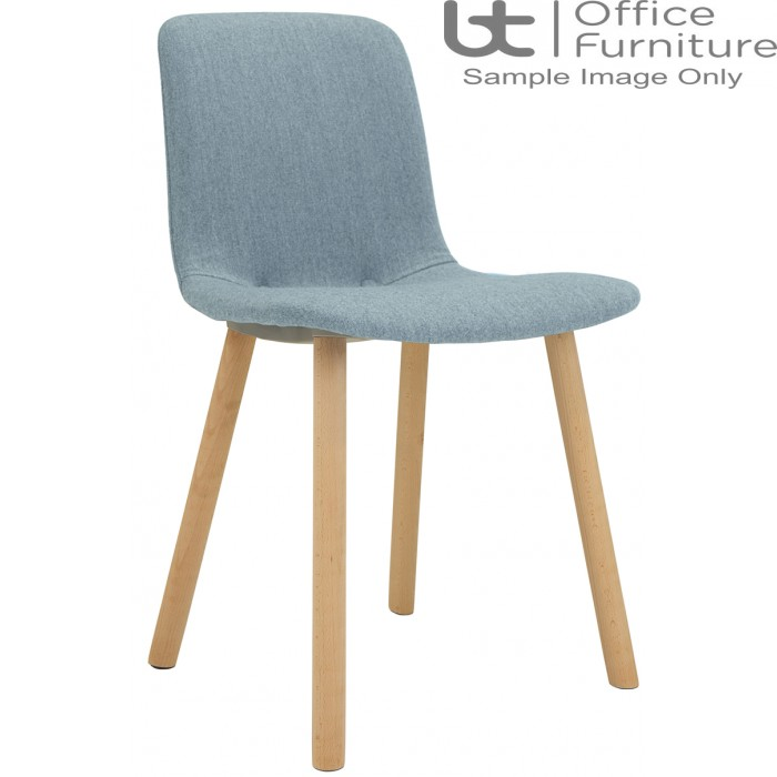 Elite Breakout Seating - Ben Wooden Frame Breakout Chair with Fabric Seat