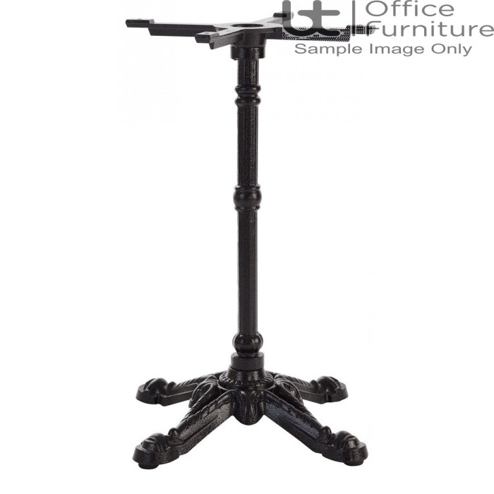TAB - Outdoors/Indoors Bistro Style Ornate Black Cast Iron Table Base