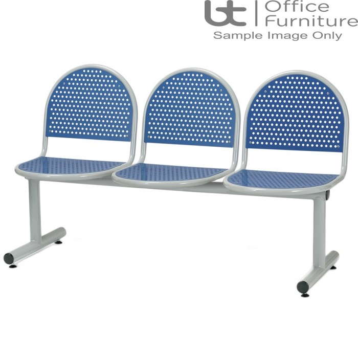 Ambe Deluxe Steel 3 Seat Perforated Beam Seating Unit