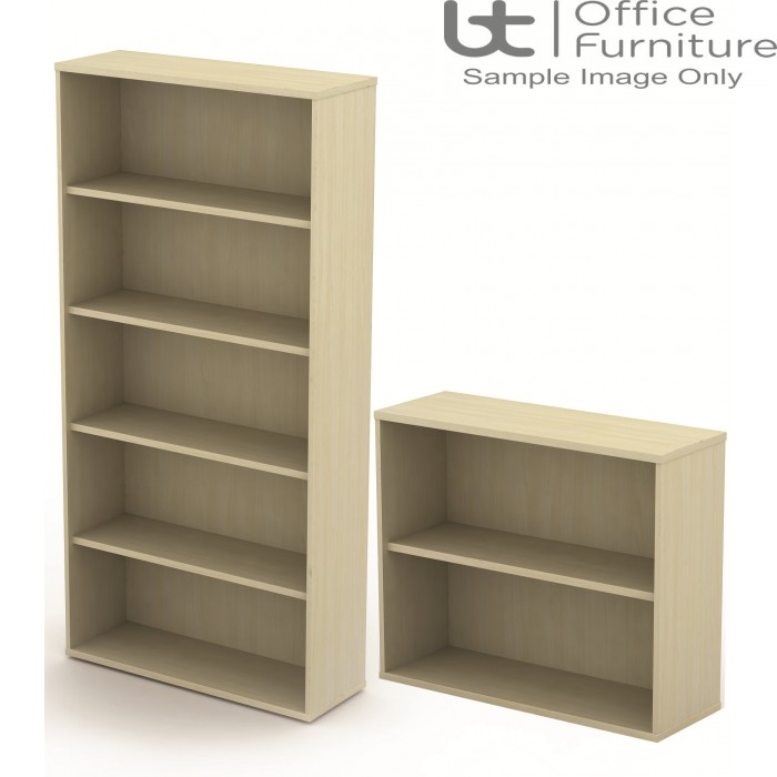 BT Sirius Storage - 800mm Wide Bookcase - from 1 to 4 Shelf Options