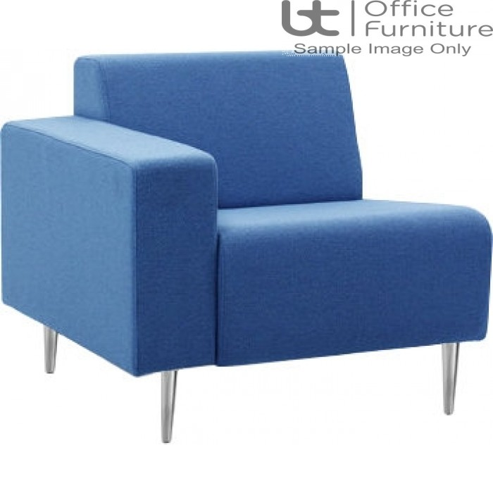 Verco Soft Seating - Bradley Single Couch with a Right Hand Facing Arm