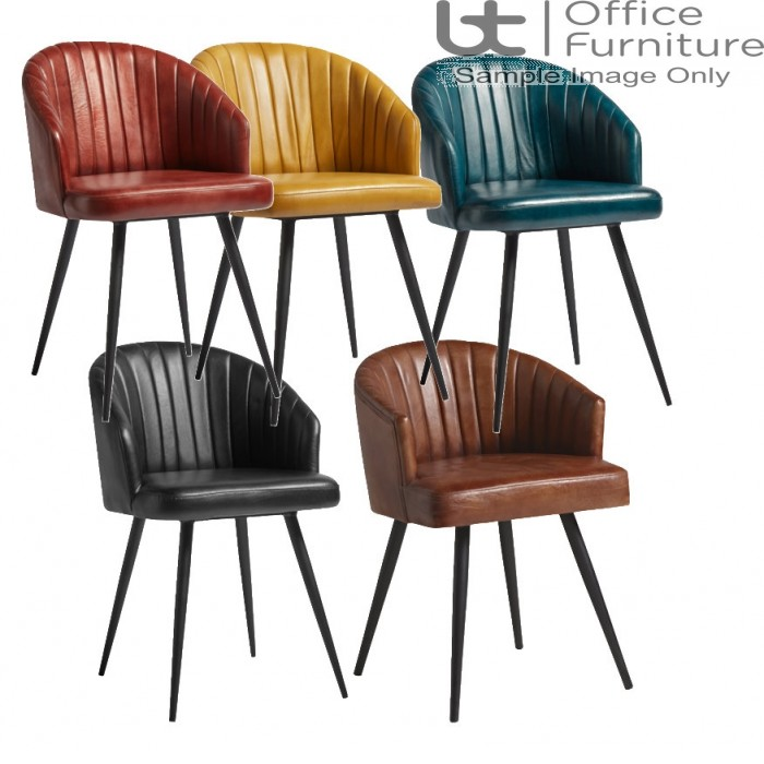 ZP Brooklyn Tub Chair -Real Leather