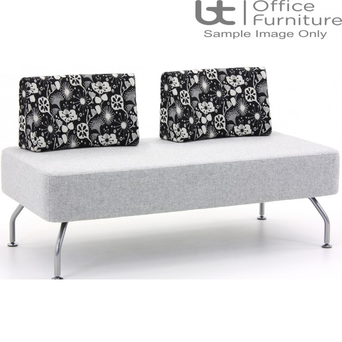 Verco Soft Seating - Brix Two Seater Unit with a Two Backs