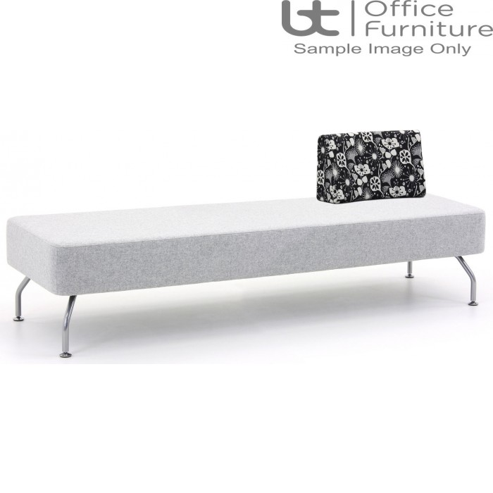 Verco Soft Seating - Brix Three Seater Unit with a Single Back (E)