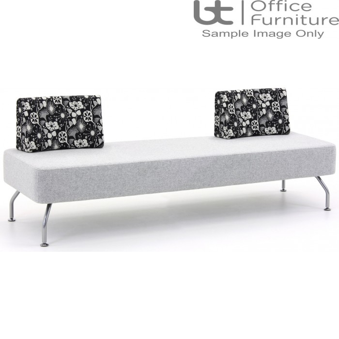 Verco Soft Seating - Brix Three Seater Unit with a Two Backs (AE)