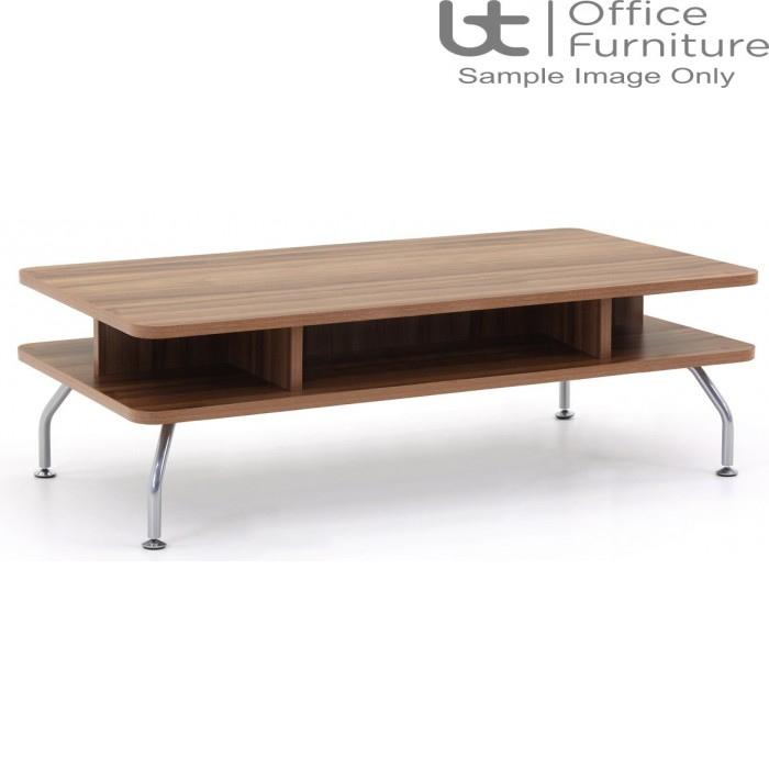 Verco Soft Seating - Brix Seat Height Rectangle Coffee Table