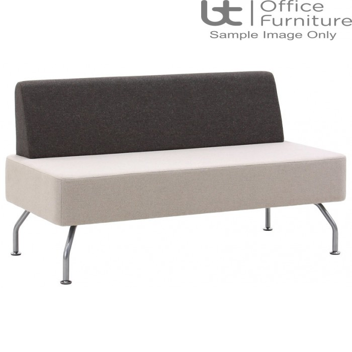 Verco Soft Seating - Brix Flat Back Two Seater Unit with a Single Back