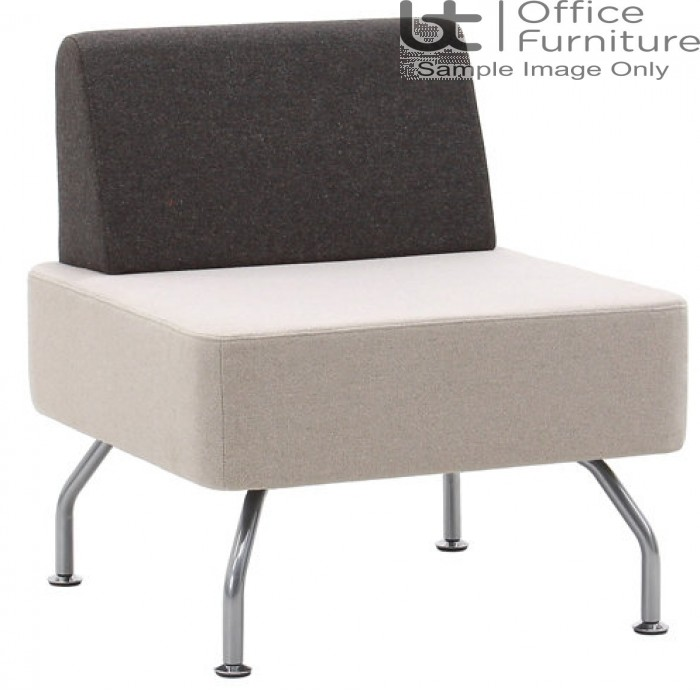 Verco Soft Seating - Brix Flat Back Single Unit with Straight Back