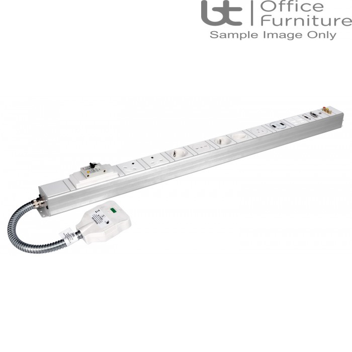 DMC Under Desk Cable Management - (PRICE ON REQUESTS) Conti Under Desk Power and Data Modules