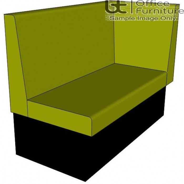 Dining Bench / Single Booth Right Hand Return Seating - 1200 & 1600mm Wide Options