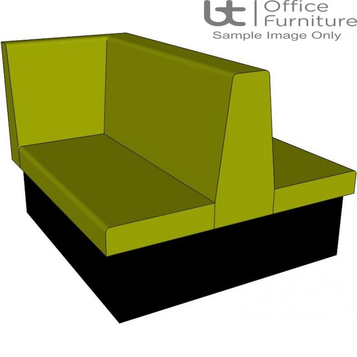 Dining Bench / Double Booth with Left Hand Return Seating - 1200 & 1600mm Wide Options