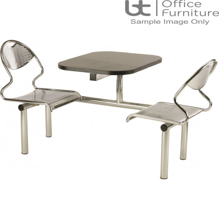 Flight 2 Seat Modular Canteen Fast food Unit (Seat: Chrome only)