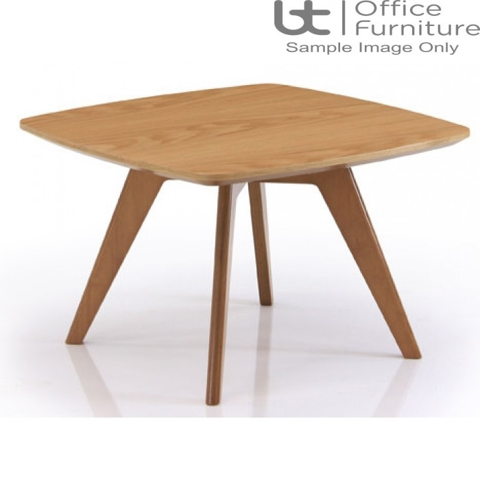 Verco Soft Seating - Danny MFC Double Barrelled Coffee Table with Solid Oak Wood Frame