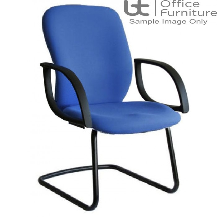 Verco Operator/Task Chair - Ergoform 2 Medium Back Visitor Chair with Arms