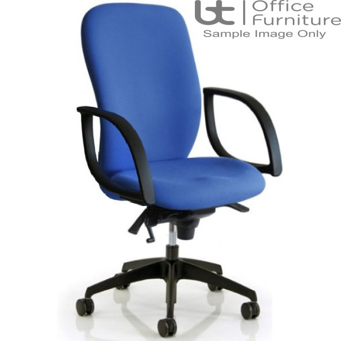 Verco Operator/Task Chair - Ergoform 2 High Back Task Chair with Arms
