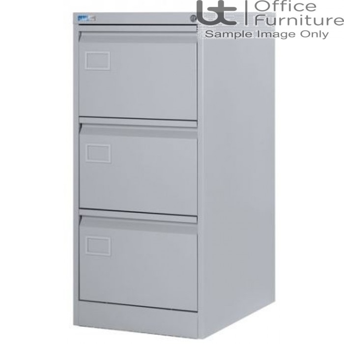 Silverline Executive Foolscap 3 Drawer Filing Cabinet
