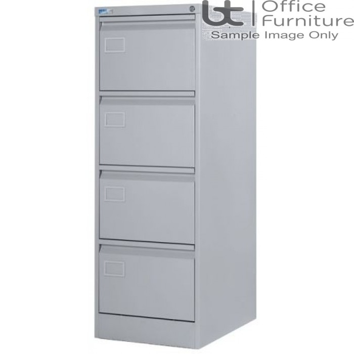 Silverline Executive Foolscap 4 Drawer Filing Cabinet