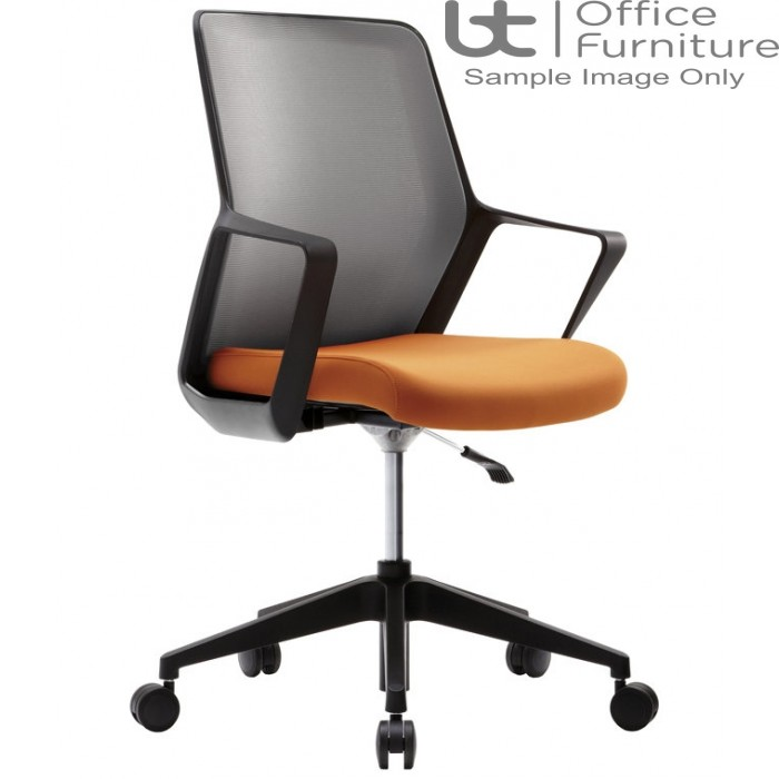 Verco Operator/Task Chair - Flow Medium Back Conference Chair with Arms
