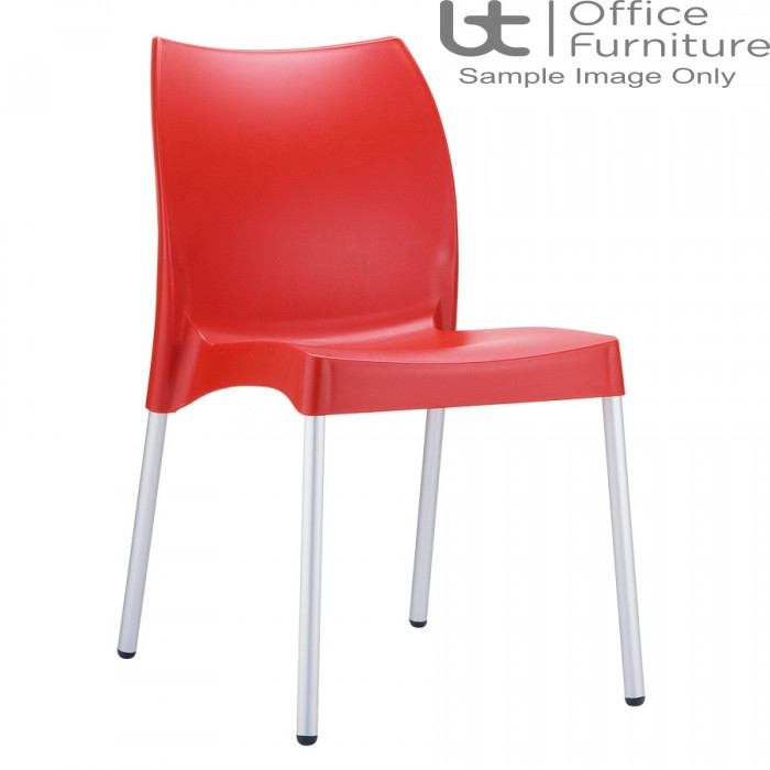 ZP ICON Side Chair – Red