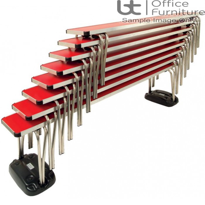 Contour Dining/Cafeteria/Canteen Stacking Benches