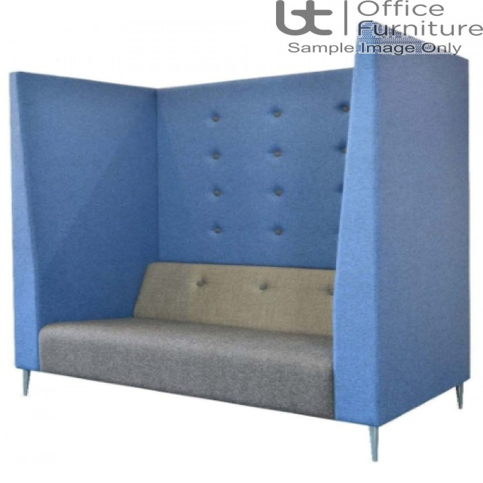Verco Pod/Booth - Jensen-Up Plus - Three Person Unit with High Acoustic Surround