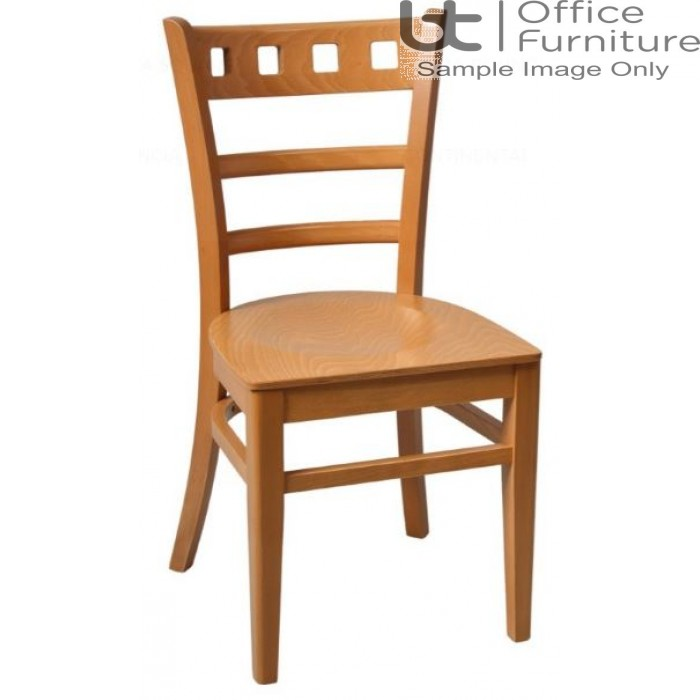 Enzo Oak with Wooden Seat & Optional Seat Pad