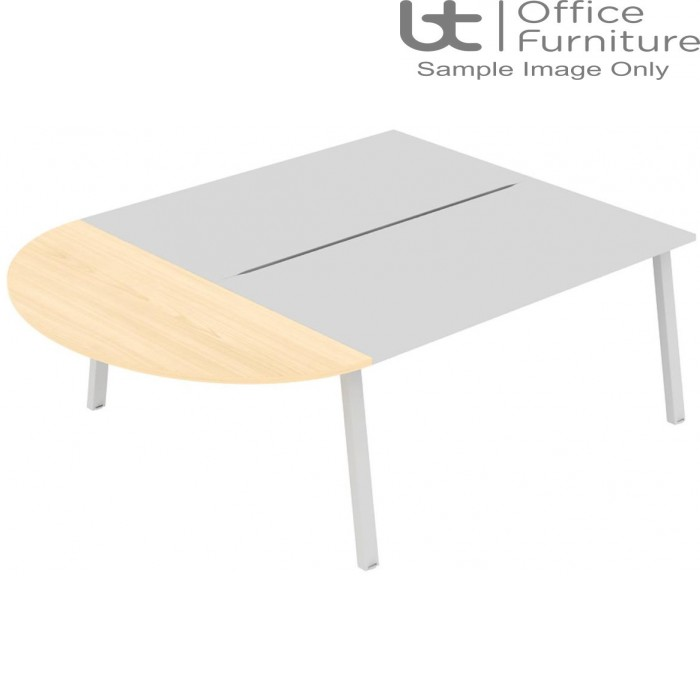 Elite Linnea Table - Curved Straight Extension (without dividing screens)