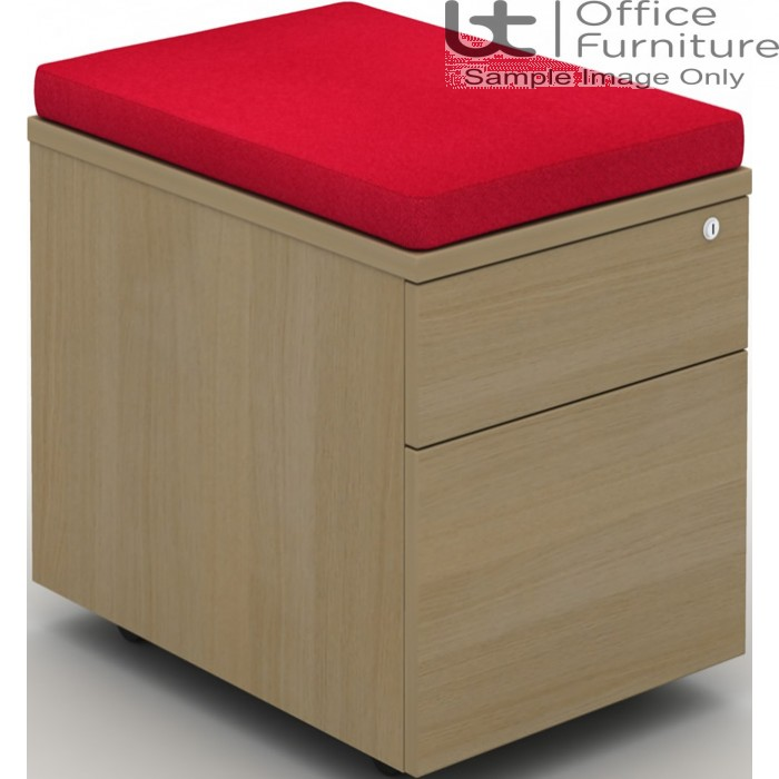 MB Storage Solutions -  Seat Pad for Mobile 2 Drawer Pedestal