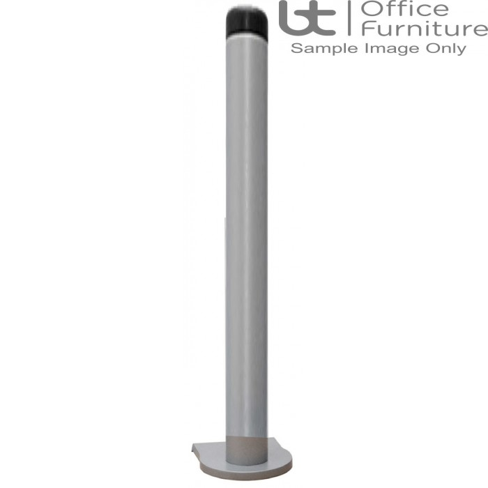 Vision S 750mm Pole plus C Clamp, Through Desk and Grommet Fixing (No Arm)