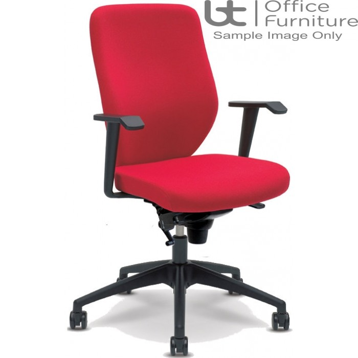 Verco Operator/Task Chair - Profile Medium Back Task Chair with Arms