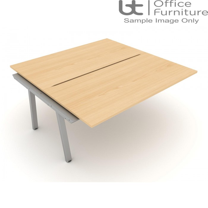 Elite Linnea 1600mm Double Bench with Shared Inset Leg