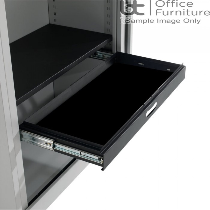 Silverline Cupboard Accessories - Roll Out Slotted Drawer
