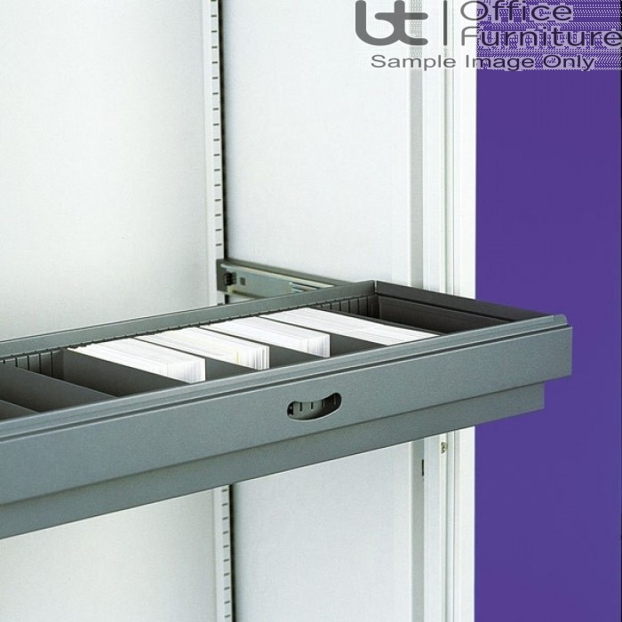 Silverline Cupboard Accessories - Slotted Drawer Divider Pack of Five