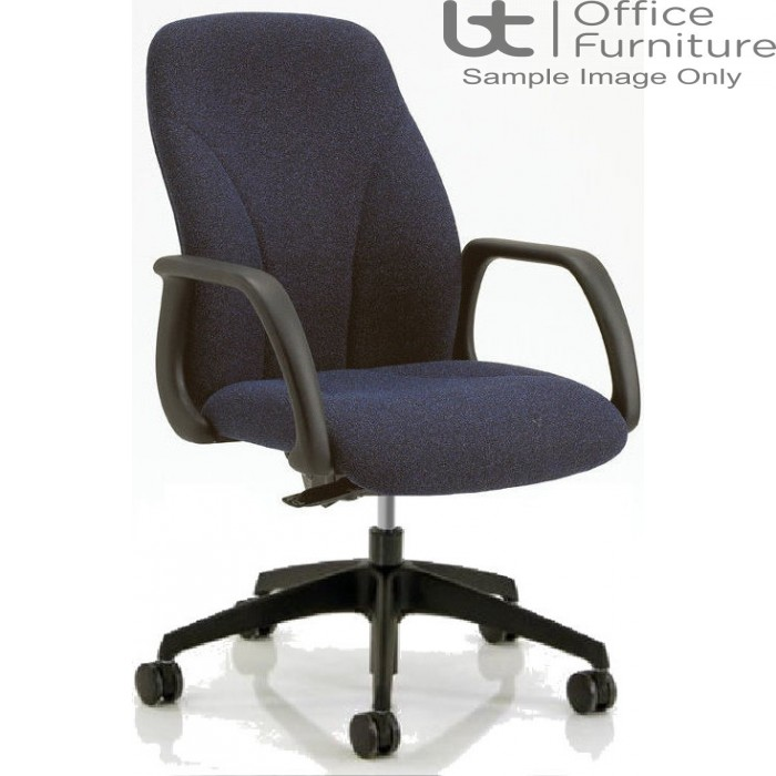 Verco Operator/Task Chair - Select 24 Medium Back Task Chair with Arms