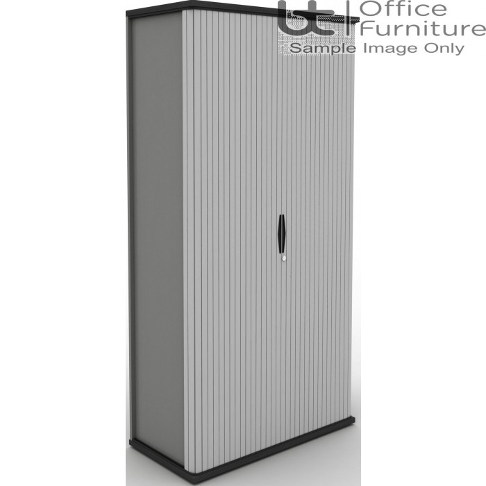 MB Storage Solutions -  Side Opening Tambour Unit 500mm Deep - (Carcass & Tambour Front White as standard)