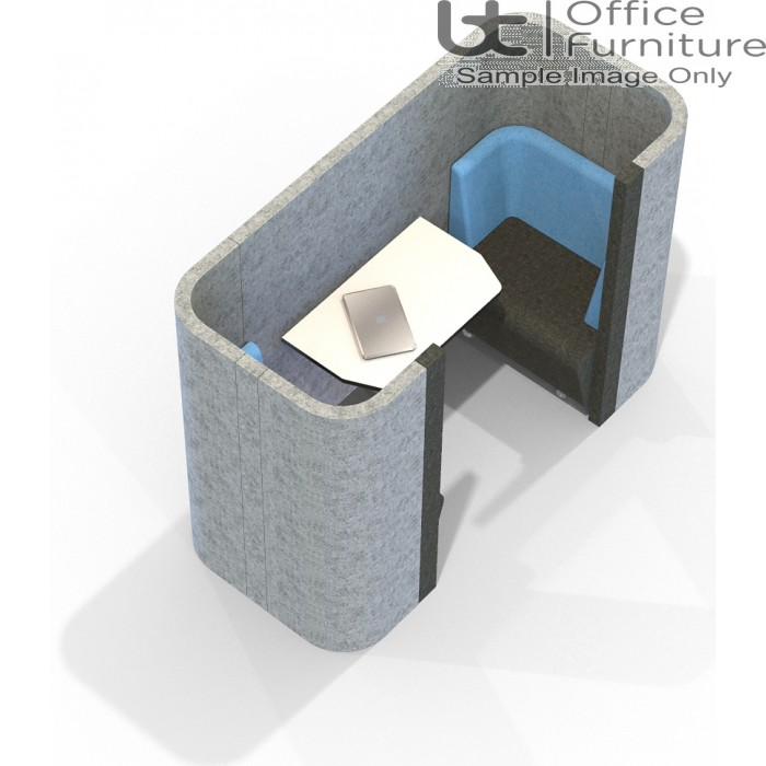 Acoustic Social - 2 Person Pod/Booth Including Table (3 Height Options)