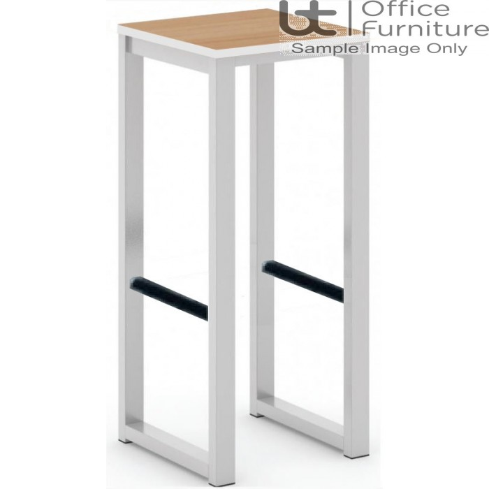 City 40/40 Robust 40mm Laminate Top School Bench Dining High Stool (Std Frame Colours)
