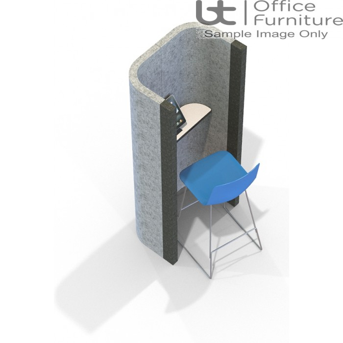 Acoustic Learning - Phone Booth Including Shelf