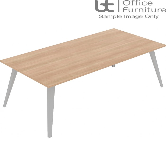 Elite Reflex Table - Meeting/Boardroom Tables 1400mm Deep - 1600mm to 4800mm Long
