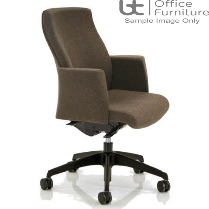 Verco Executive Seating - Verve2 Medium Back Task Chair with Arms