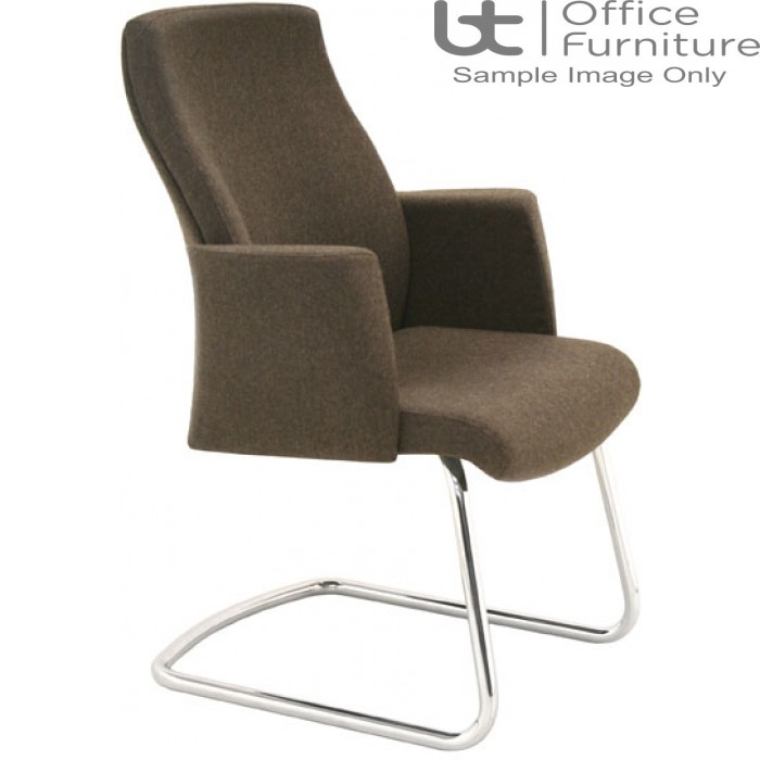 Verco Executive Seating - Verve2 Medium Back Cantilever Visitors Chair with Arms