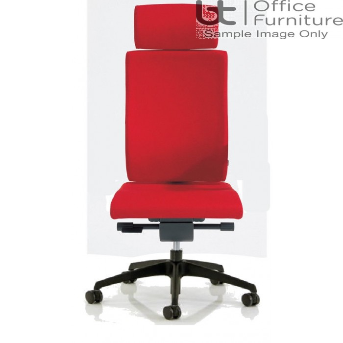 Verco Executive seating - Vibe Fully Upholstered High Back Task Chair