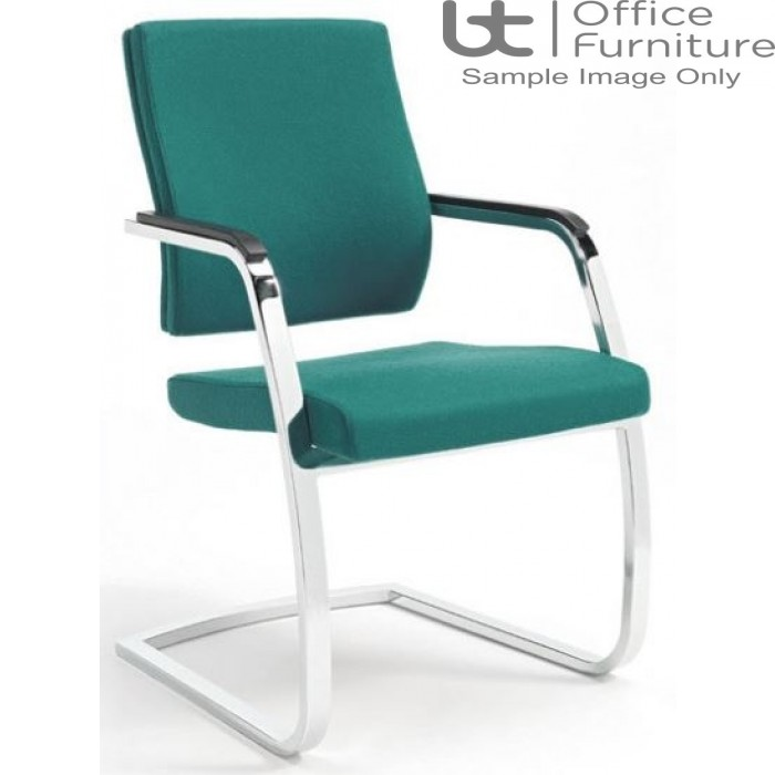 Verco Executive seating - Vibe Fully Upholstered Medium Back Visitor Chair with Arms