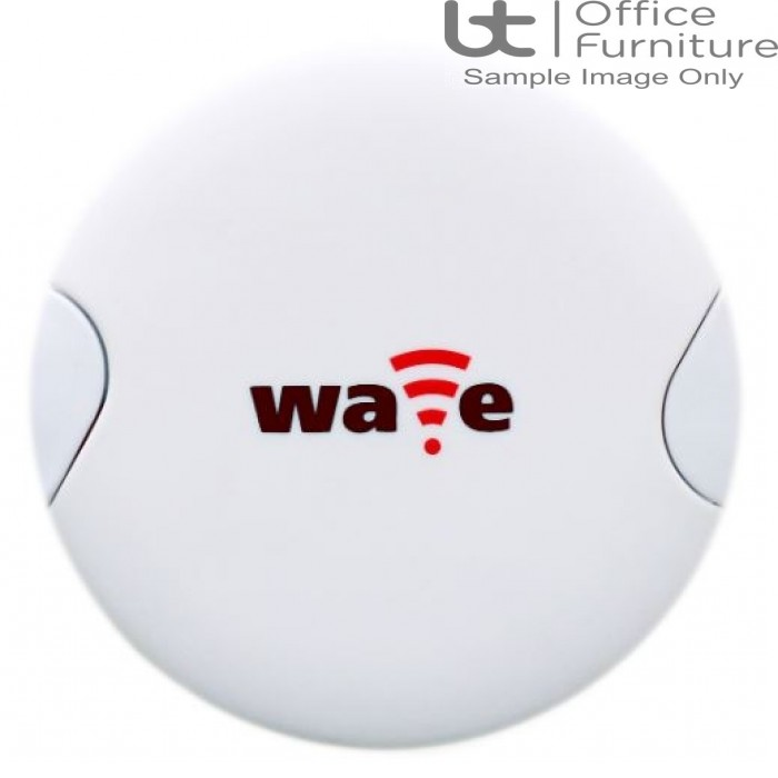 PortHole White Wave wireless charging receiver with Micro USB & Apple Lightning connector