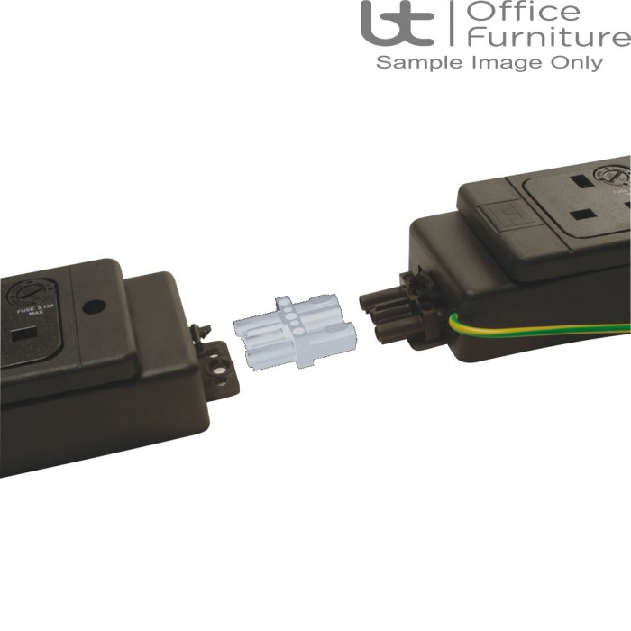 Cable Accessories - White 16 Series Connector Blocks