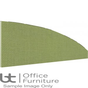 Innovate Venice Fabric Desk Mounted Arc Screen 480-50mm High - Non Linking