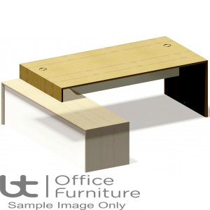 Aston Left Hand and Right Hand Supported Desks