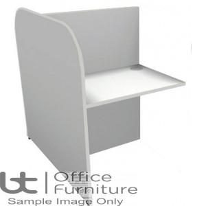 BT Study Carrel Single Back to Back Add-On Unit - 1268mm Deep - (Band 1 Colour Choices)