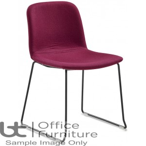 Verco Visitor / Conference Seating - Bethan Medium Back Sled Frame Chair